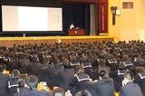 広島三原高校_20130412_体育館全体