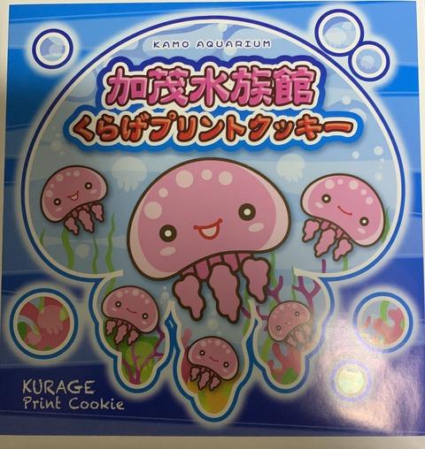 加茂水族館のお土産(クッキー)