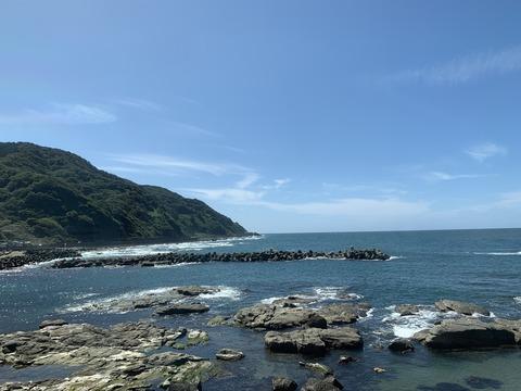 美しい日本海の景色