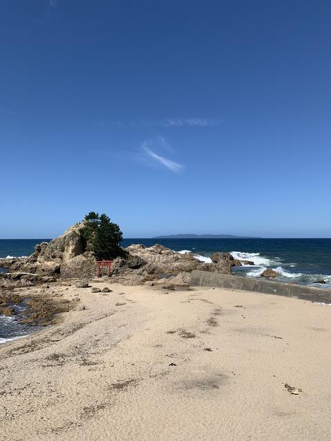粟島の見える景色