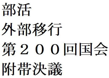 200国会