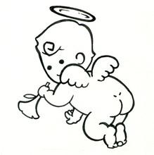天使のおしり