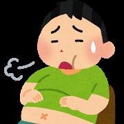 manpuku_kurushii