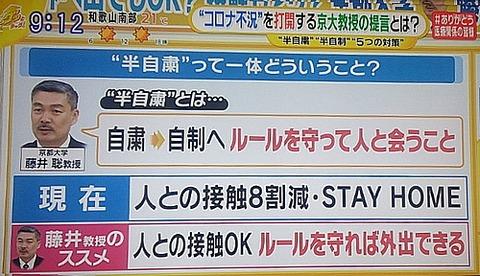 藤井教授感染機会を減らす2