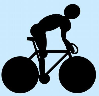 ロードバイクシルエット