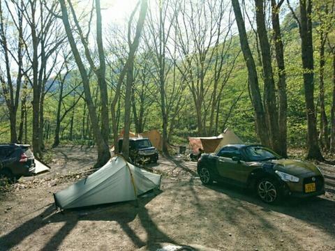 キャンプシーズン到来!