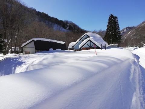 雪下ろし日和