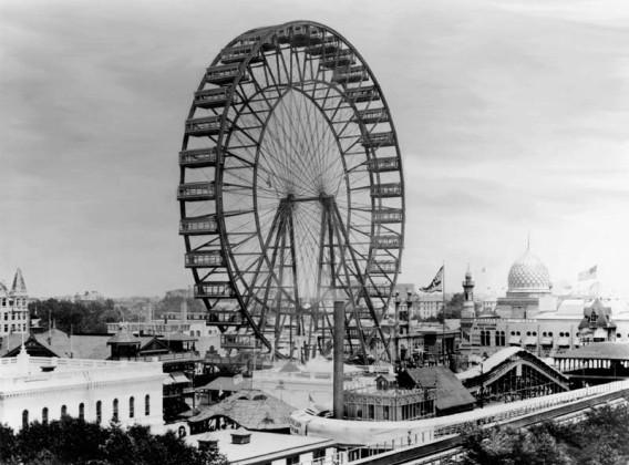 これが世界初の観覧車だ(1893年) : カラパイア
