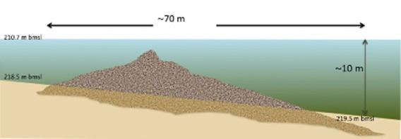 イスラエルのガリラヤ湖に沈んでいた謎の巨大構造物 : カラパイア