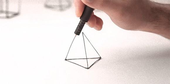 空中に絵が描けてそれが形になる!小型・軽量、進化した3Dプリントペン「LIX」に物欲が加速しだした。
