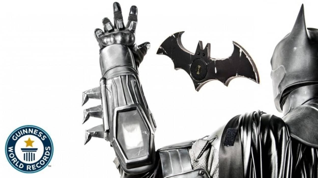 バットマンスーツでギネス記録
