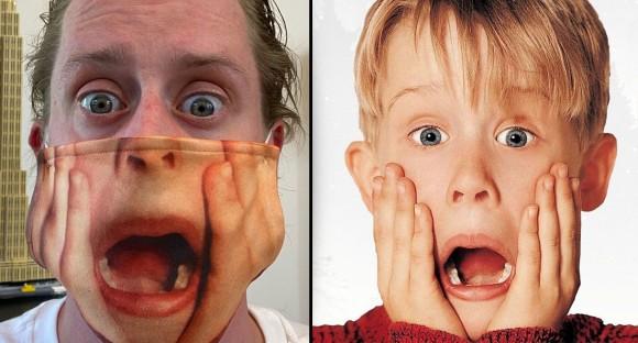 マコーレー・カルキンの「ホーム・アローン」マスクが笑わせにきている件