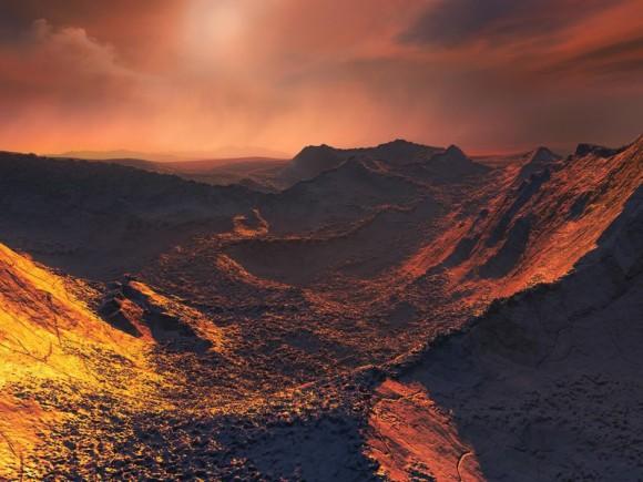 宇宙的には地球から近い恒星「バーナード星」で太陽系外惑星の存在を確認。(スペイン研究)
