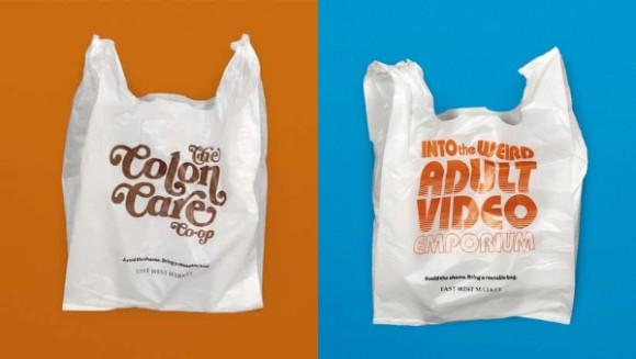 レジ袋にとても恥ずかしい文言を印刷し、顧客にエコバッグ持参を促すスーパーの試み(カナダ)