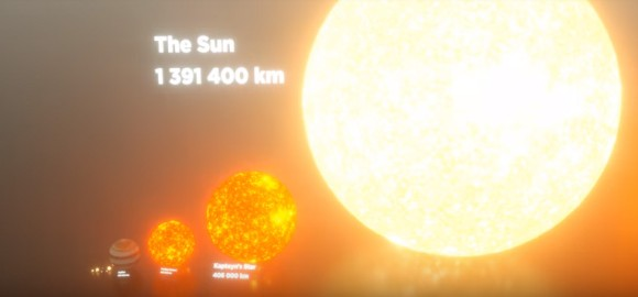 地球は?太陽は?宇宙の星の大き...