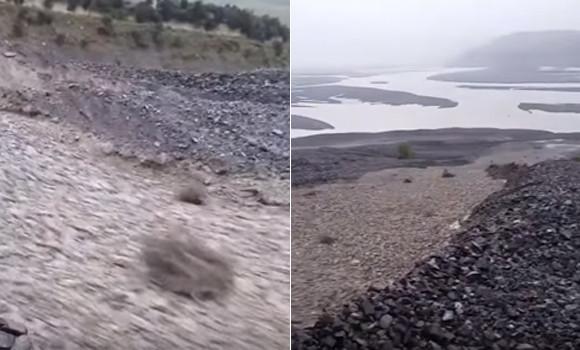 見よ!岩が液体のようだ。ニュージーランドで発生した石の川「粒状流」