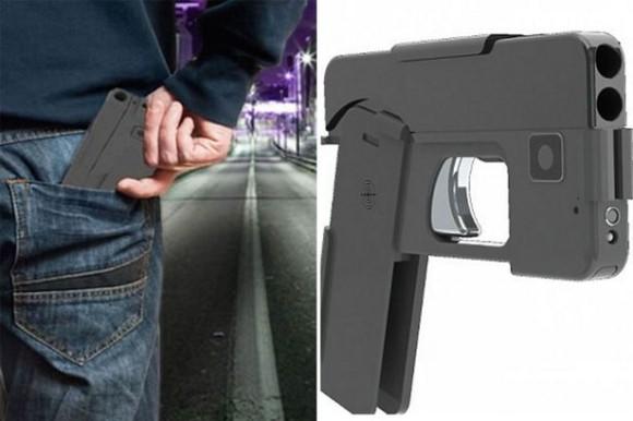 スマホそっくりの拳銃がアメリカで販売されている件