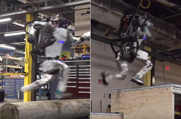 また人に近づいてきた!ヒューマノイドロボット「アトラス」がジャンプしながら華麗なるパルクールを決める