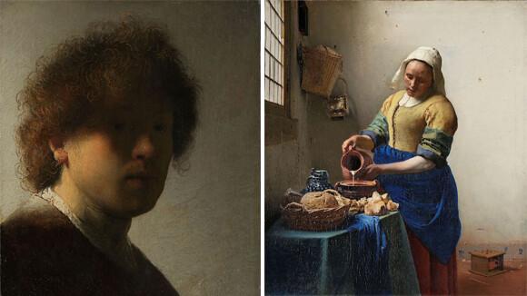 レンブラントやフェルメールも。アムステルダム国立美術館が70万点以上の作品を公開、無料ダウンロードも可能に