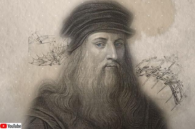 レオナルド・ダ・ヴィンチの独創的な発明品を3Dで再現した必見動画