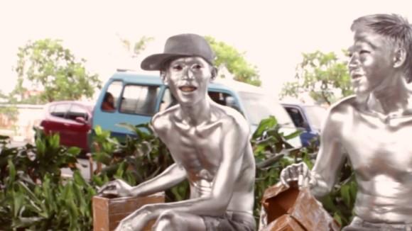 インドネシアのシルバーマン