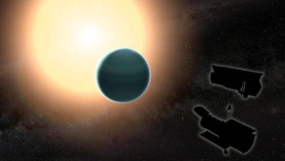 太陽系外惑星「HAT-P-26b」の大気に大量の水蒸気が発見される(NASA研究)