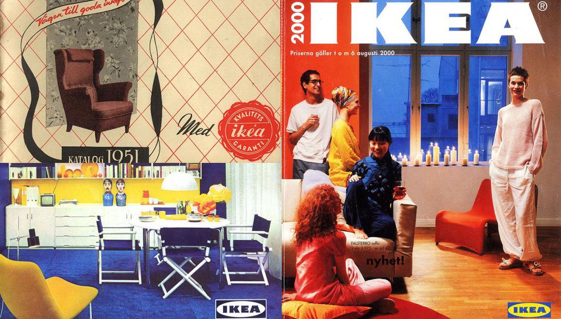 創業世界最大級の家具量販店「IKEA」カタログの歴史(1951年- 2000年)