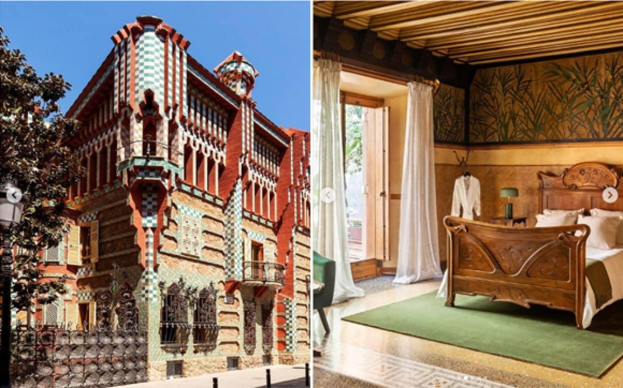ガウディが設計した邸宅に宿泊できるプランが登場