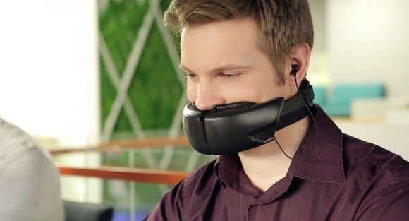 通話している時の声が一切外に漏れない画期的なマスクデバイス「Hushme」が登場。しかも声色とか変えられるし。