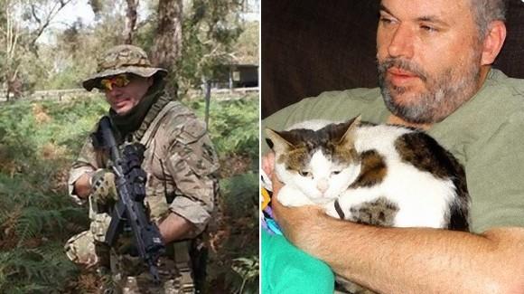 俺の猫をすぐに引き渡せ、完全武装した男性が動物病院を襲撃