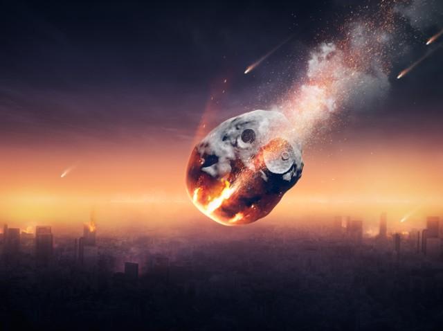 半年前に小惑星が衝突することがわかったところで、それを防ぐ手立てはない(NASAのシミュレーション)