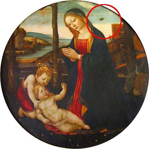 中世宗教画にUFOが描かれている理由とは?その謎に迫る。