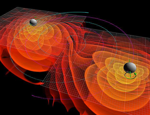 エイリアンブラックホールが放つ型破りな重力波