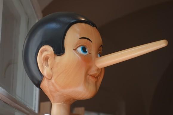 ピノキオは嘘をつくと鼻が伸びるが、人間は嘘をつくと鼻が縮むことが判明(スペイン研究)