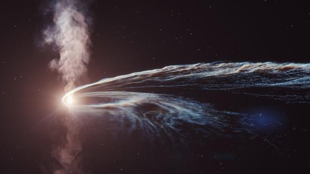 南極に墜落したゴースト粒子はブラックホールで粉々にされた惑星の一部であることが判明