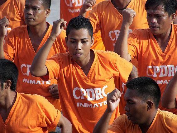 Philippine Prison Prisoners Dance Dancing 6