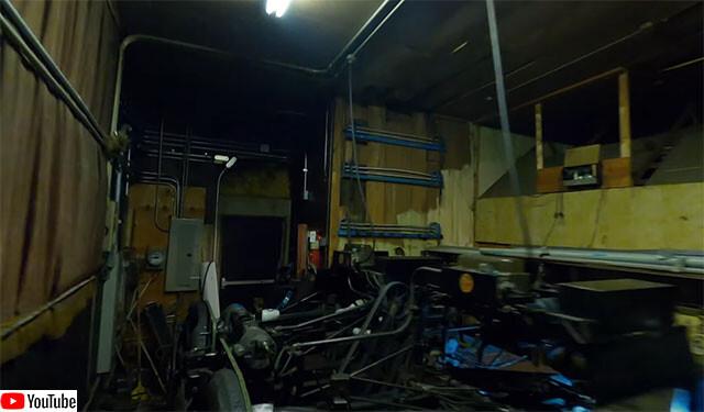 ボウリング場の隅々をドローンで撮影した驚くべき映像