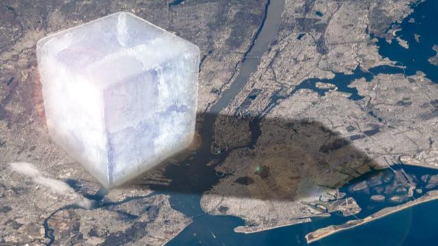 過去20年で28兆トンの氷が消失