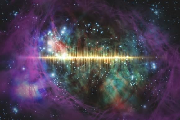 太陽系外から電波シグナルを検出