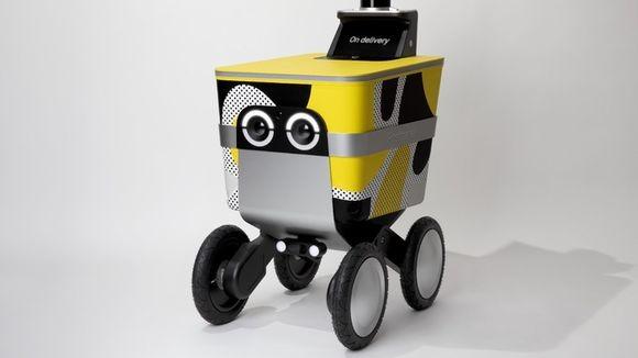 かわいいロボットが注文した商品を家まで運んできてくれる。自走ロボット配送するサービスが開始される(アメリカ)