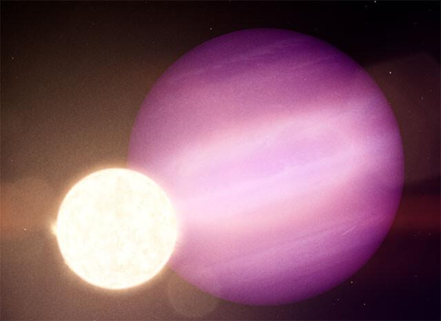 死にゆく恒星を公転する大惑星が史上初めて発見される