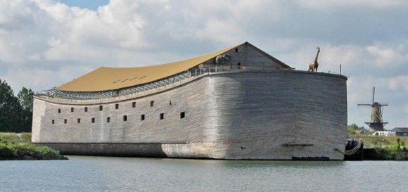 1億8千万円を投じて聖書に記載されたノアの方舟を再現。その船の行方は?