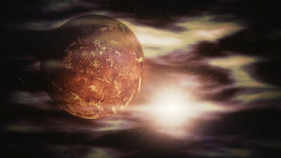 金星にある暗いシミ。それが生命体である可能性を示唆(米研究)