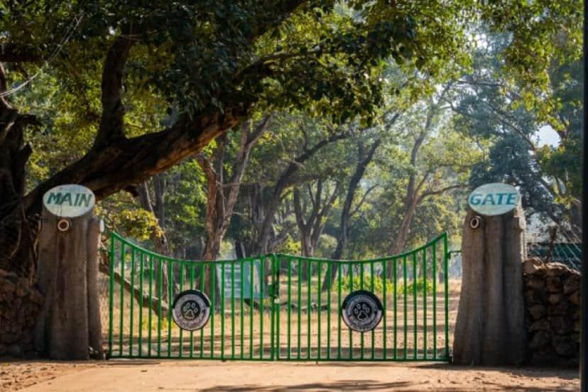 閉鎖中の自然公園