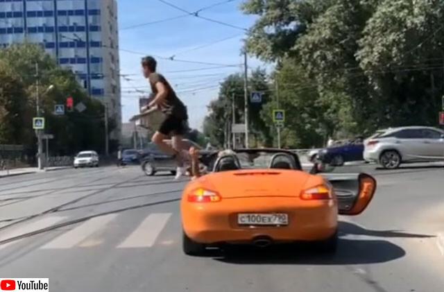 横断歩道に車が停止していた時の歩行者の対応