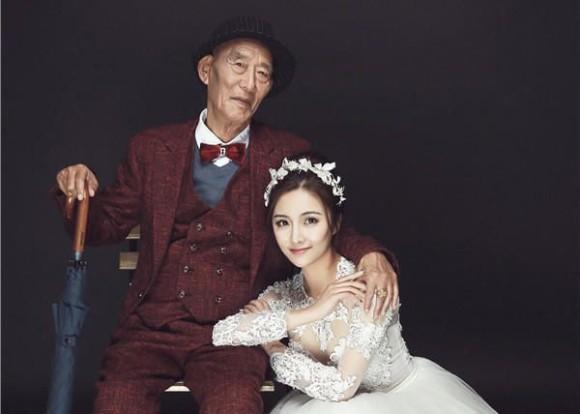 残された時間はあとわずか。大好きなおじいちゃんに孫娘から最高にロマンチックな贈り物(中国)
