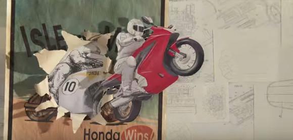 これはすごい!ホンダの技術革新60年の歴史がわかるパラパラアニメーションの画像