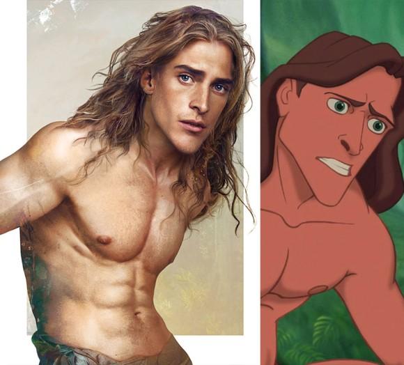 イケメンすぎて震えが止まらない。ディズニーアニメに出てくる王子様を実写化させてみた。