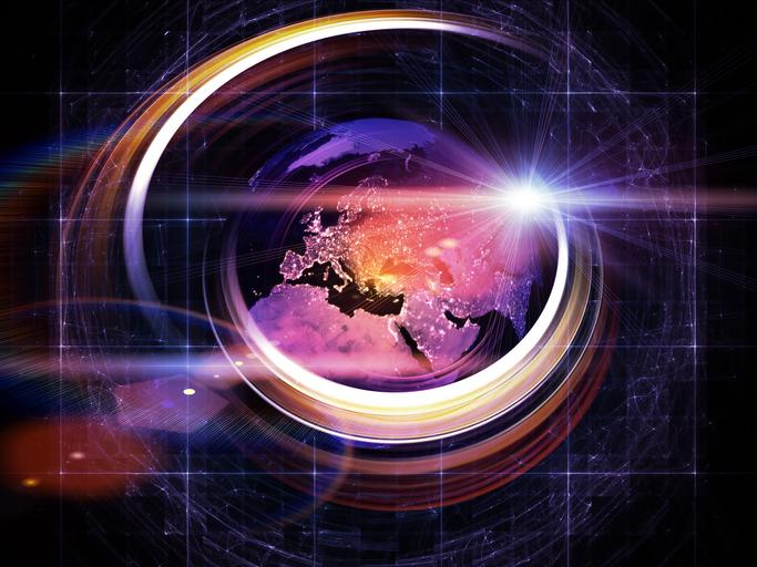 地球の自転が加速している