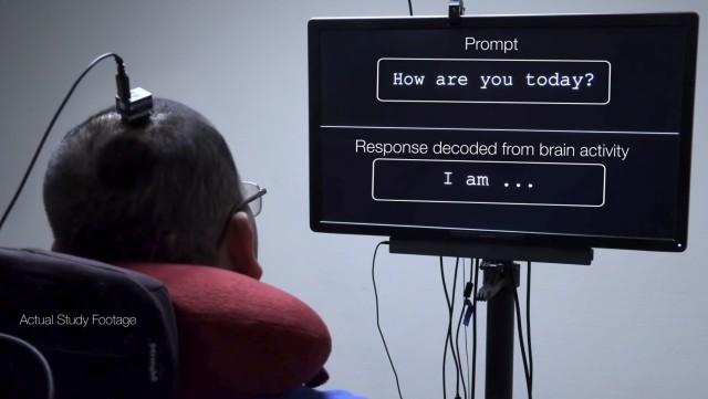脳内で思い浮かべた言葉をダイレクトに文字として出力する技術が誕生(Facebook)